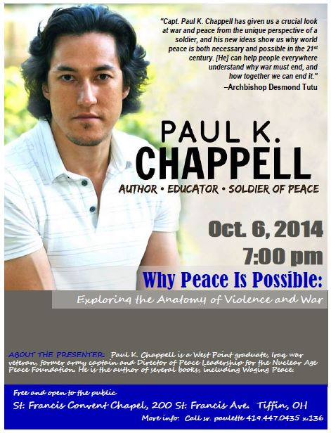 Paul Chappell poster